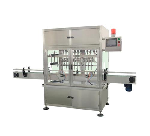 YB-ZD12L 十二头直线常压式全自动液体灌装机