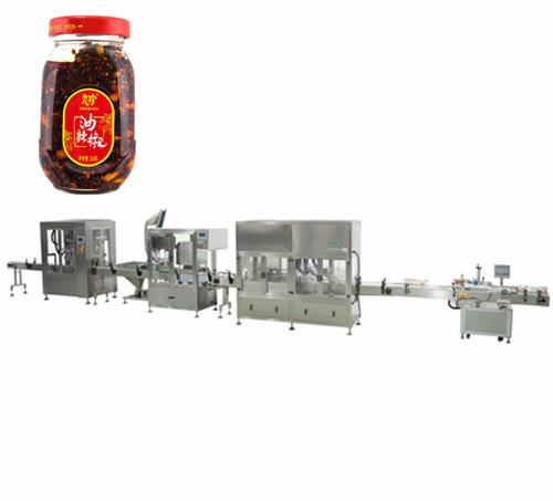 油辣椒自动灌装生产线