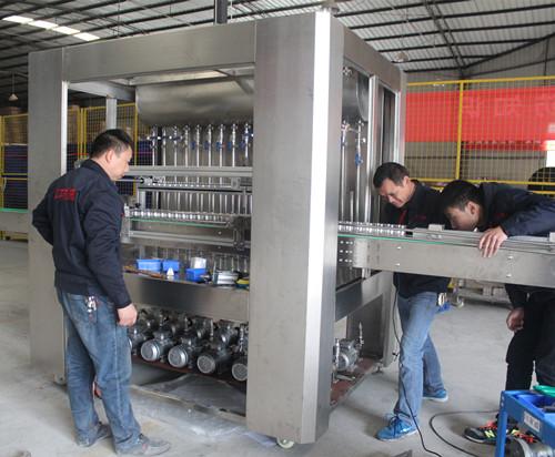 火锅油碟灌装机