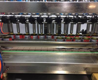 重庆柏林麻油:12头易拉罐生产线